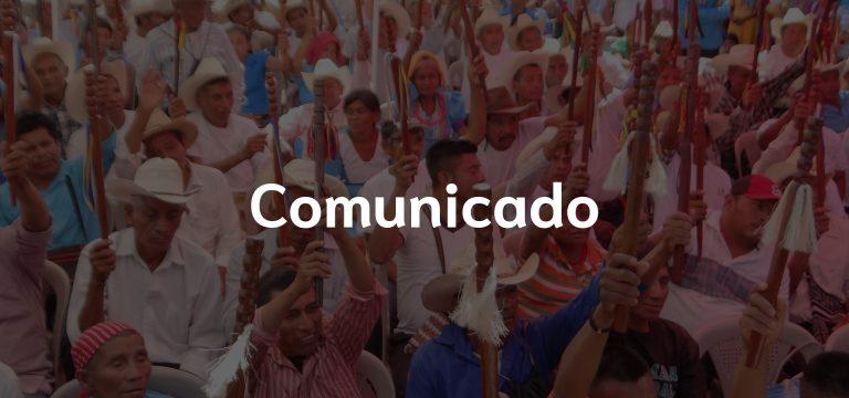 Comunicado ante Amparo en Caso Cantera «Los Manantiales»