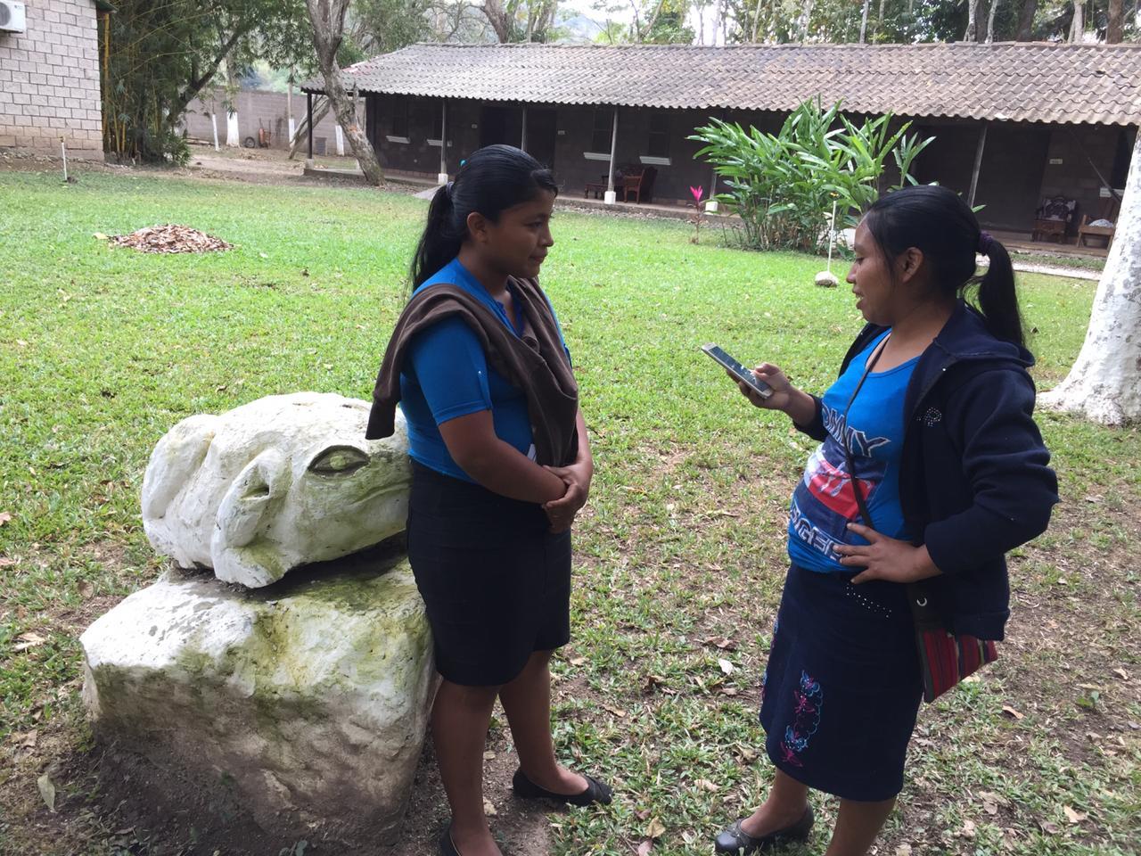 Una comunidad virtual Maya Ch'orti'
