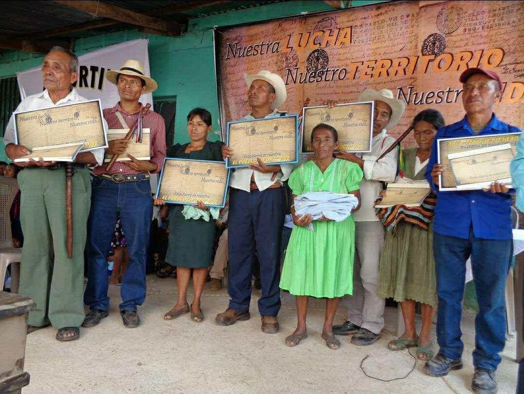 Recuperadas tierras ancestrales